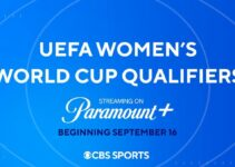 Paramount+ to provide UEFA Women's World Cup Qualifiers